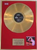 "EDDIE COCHRAN - 24 Carat Gold Disc - ""CHERISHED MEMORIES"""